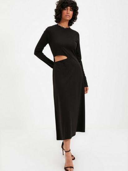 Сукня Trendyol модель TWOAW22EL0736/Siyah — фото 3 - INTERTOP