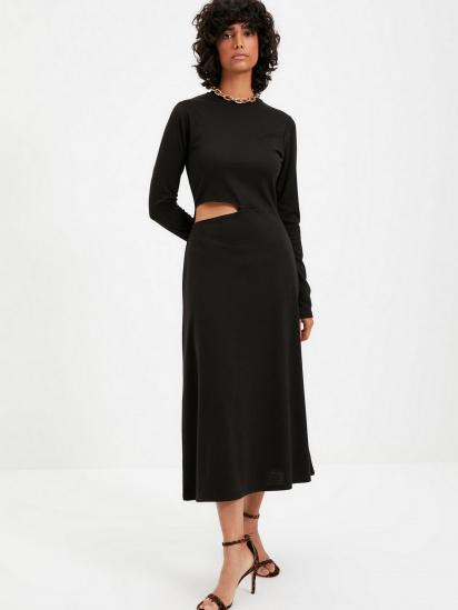Сукня Trendyol модель TWOAW22EL0736/Siyah — фото 4 - INTERTOP