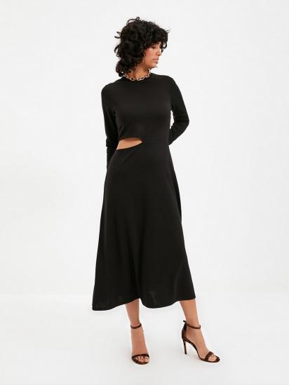Сукня Trendyol модель TWOAW22EL0736/Siyah — фото - INTERTOP