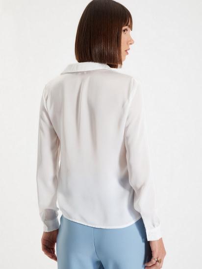 Сорочка з довгим рукавом Trendyol модель TWOAW22GO0132/Ekru — фото 3 - INTERTOP