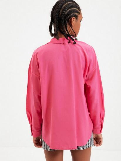Сорочка з довгим рукавом Trendyol модель TWOAW22GO0147/Pembe — фото 2 - INTERTOP