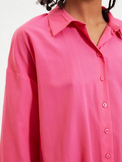 Сорочка з довгим рукавом Trendyol модель TWOAW22GO0147/Pembe — фото 5 - INTERTOP