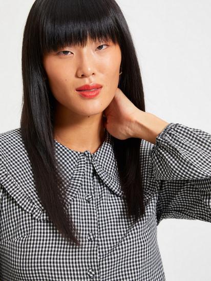Сорочка з довгим рукавом Trendyol модель TWOAW22GO0310/Siyah — фото 5 - INTERTOP