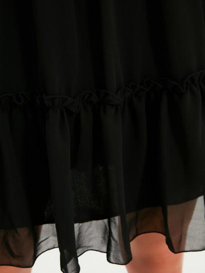 Сукня Trendyol модель TWOAW20EL0345/Siyah — фото 3 - INTERTOP