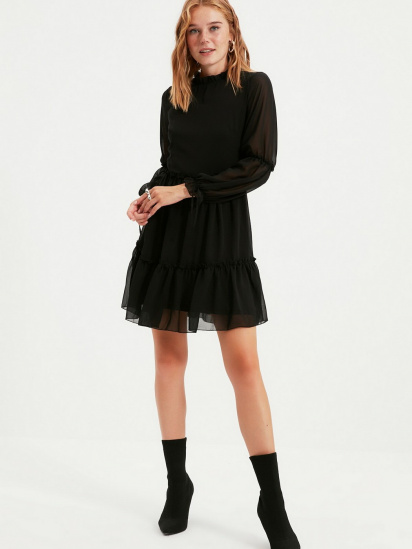 Сукня Trendyol модель TWOAW20EL0345/Siyah — фото 5 - INTERTOP