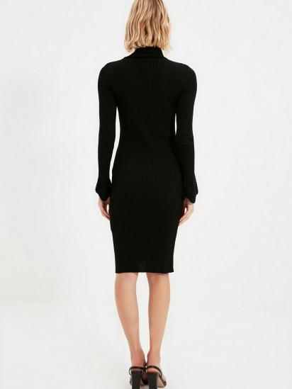 Сукня Trendyol модель TWOAW20YN0005/Siyah — фото 2 - INTERTOP