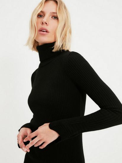 Сукня Trendyol модель TWOAW20YN0005/Siyah — фото 4 - INTERTOP