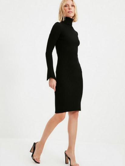 Сукня Trendyol модель TWOAW20YN0005/Siyah — фото 5 - INTERTOP