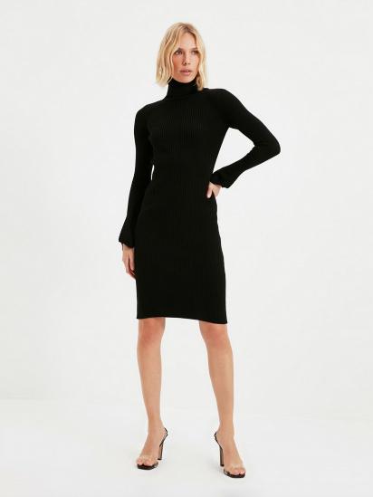 Сукня Trendyol модель TWOAW20YN0005/Siyah — фото - INTERTOP