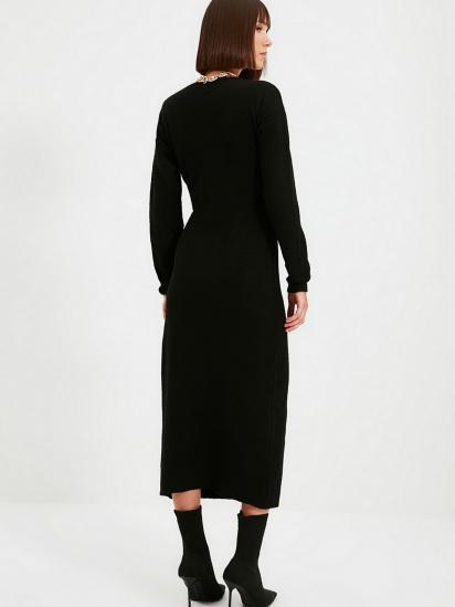 Сукня Trendyol модель TWOAW21EL0260/Siyah — фото 2 - INTERTOP
