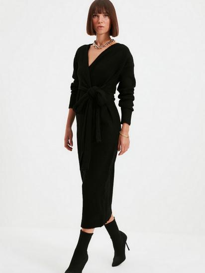 Сукня Trendyol модель TWOAW21EL0260/Siyah — фото 4 - INTERTOP
