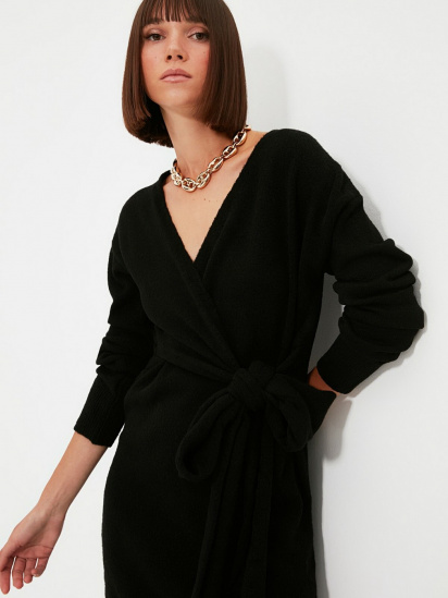 Сукня Trendyol модель TWOAW21EL0260/Siyah — фото 5 - INTERTOP