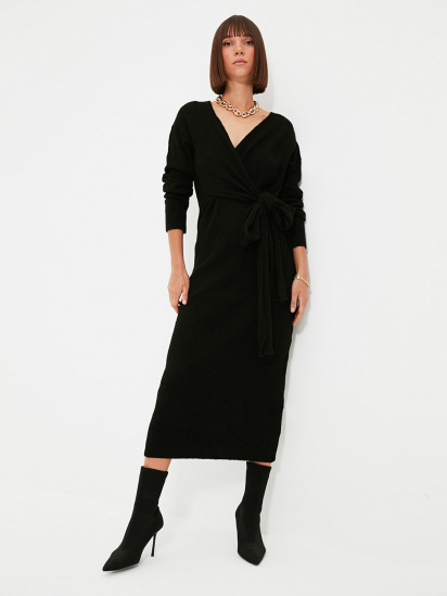 Сукня Trendyol модель TWOAW21EL0260/Siyah — фото - INTERTOP