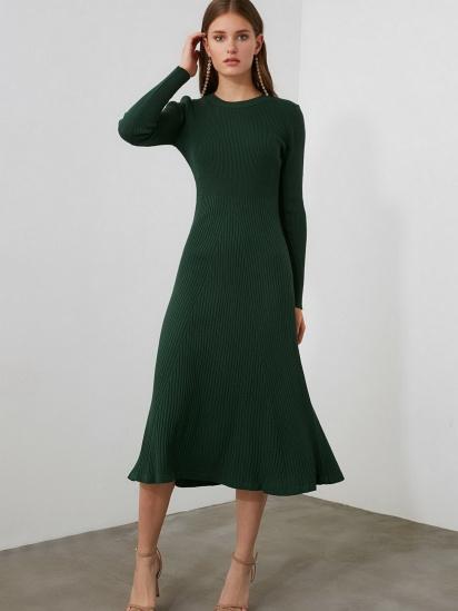 Сукня Trendyol модель TWOAW21EL0422/Yesil — фото 2 - INTERTOP