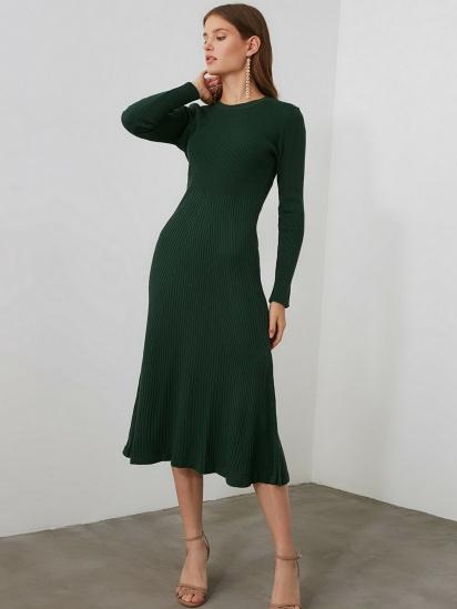 Сукня Trendyol модель TWOAW21EL0422/Yesil — фото 3 - INTERTOP