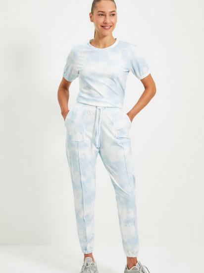 Спортивні штани Trendyol модель TWOAW22EA0048/Mavi — фото 4 - INTERTOP