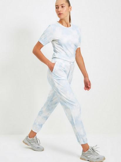 Спортивні штани Trendyol модель TWOAW22EA0048/Mavi — фото 5 - INTERTOP