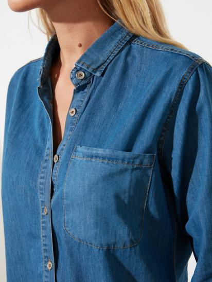 Блуза з довгим рукавом Trendyol модель TWOSS21GO0790/Mavi — фото 2 - INTERTOP