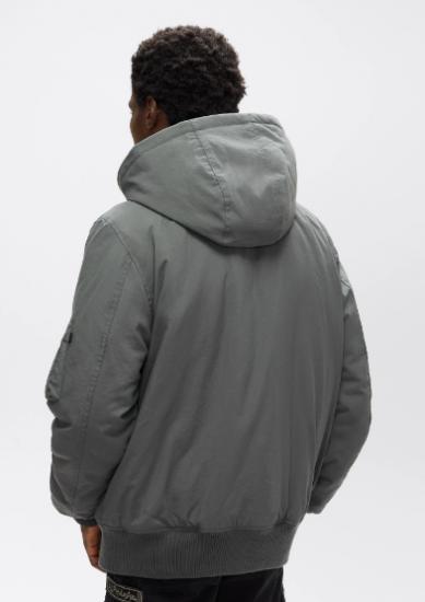 Легка куртка Alpha Industries модель UJM50502C1_gun_metal — фото 2 - INTERTOP