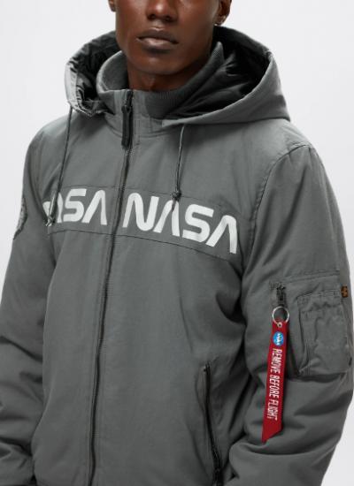 Легка куртка Alpha Industries модель UJM50502C1_gun_metal — фото 3 - INTERTOP