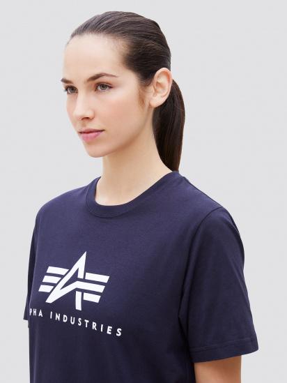 Alpha Industries Футболка жіночі модель UTB49000G1_blue ціна, 2017
