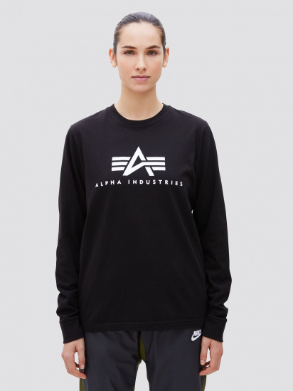 Футболка женские Alpha Industries модель UTB49002G1_black цена, 2017