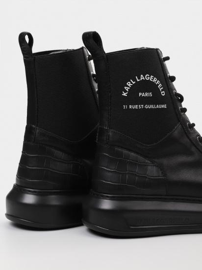 Черевики Karl Lagerfeld модель KL62588_40X_0041 — фото 3 - INTERTOP