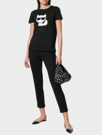 Футболка женские Karl Lagerfeld модель 96KW1716_999_0041 купить, 2017