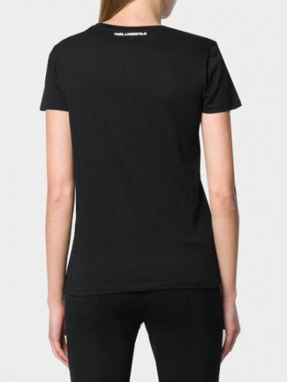 Футболка женские Karl Lagerfeld модель 96KW1716_999_0041 цена, 2017
