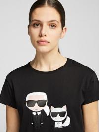 Футболка женские Karl Lagerfeld модель 96KW1717_999_0041 купить, 2017