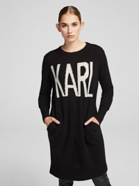 Кофты и свитера женские Karl Lagerfeld модель 96KW2012_999_0041 отзывы, 2017