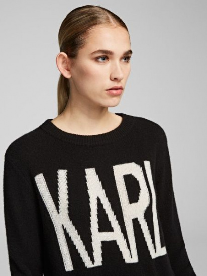 Кофты и свитера женские Karl Lagerfeld модель 96KW2012_999_0041 качество, 2017