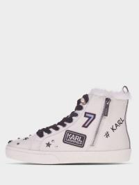 Полуботинки для женщин Karl Lagerfeld SKOOL Jewel Badge Hi UV70 выбрать, 2017