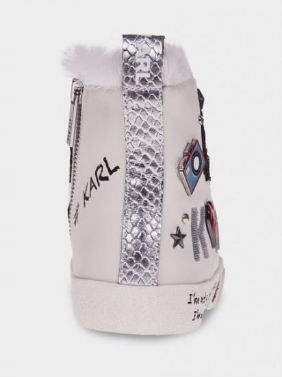 Полуботинки для женщин Karl Lagerfeld SKOOL Jewel Badge Hi UV70 цена, 2017