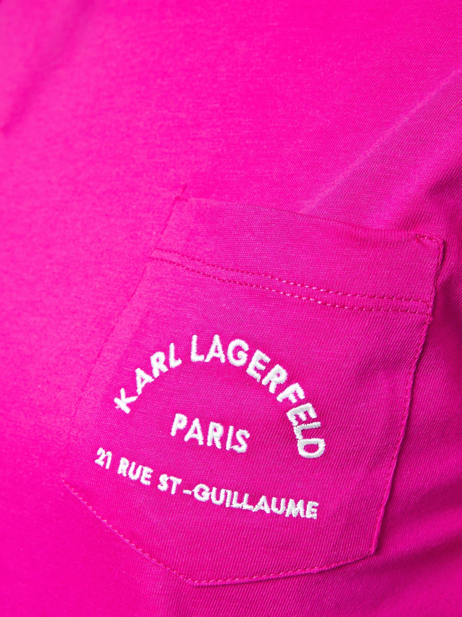 Футболка женские Karl Lagerfeld модель UV79 цена, 2017