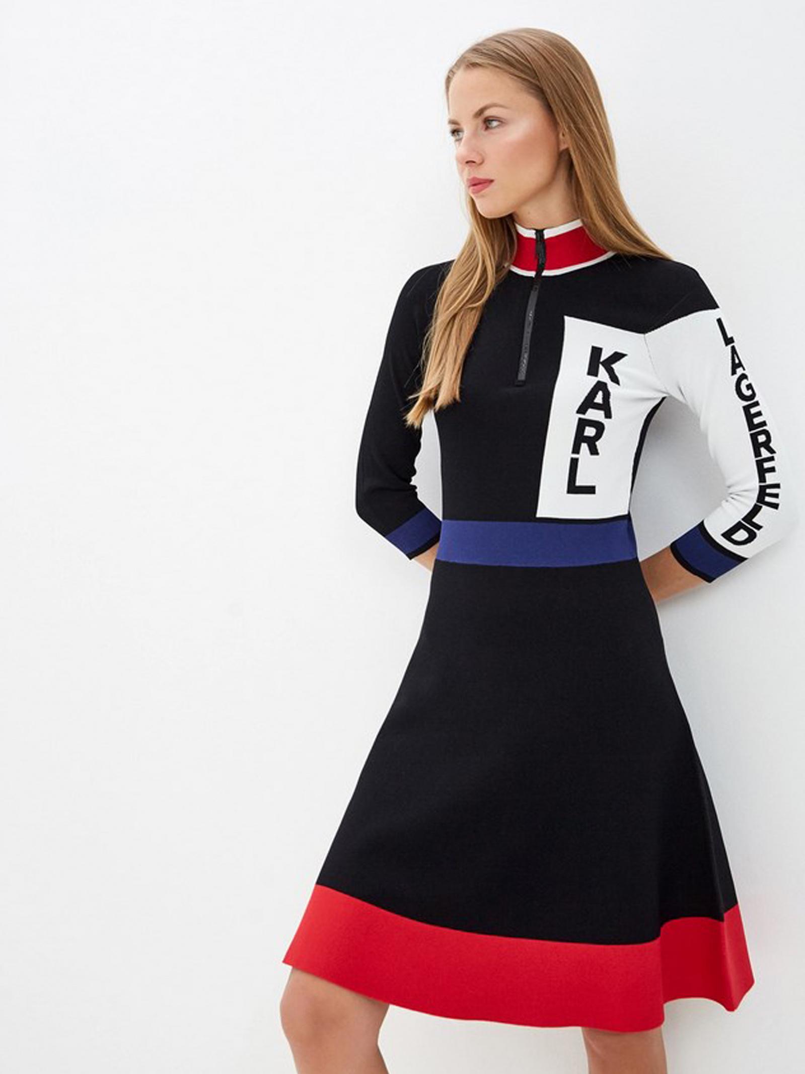 Платье женские Karl Lagerfeld модель 201W2005_999_0041 , 2017