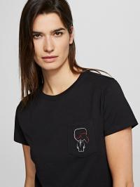 Футболка женские Karl Lagerfeld модель 201W1739_999_0041 купить, 2017