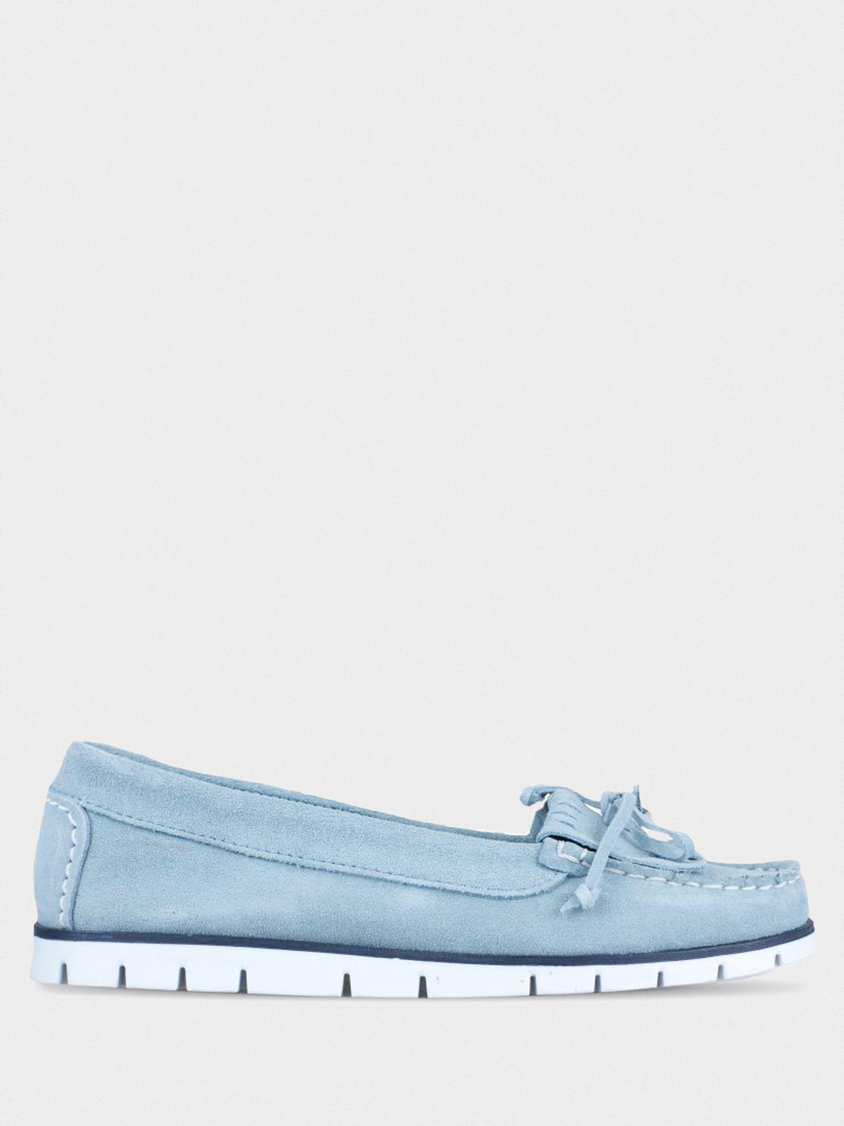 Купить Мокасины женские Filipe Shoes UZ31, Голубой