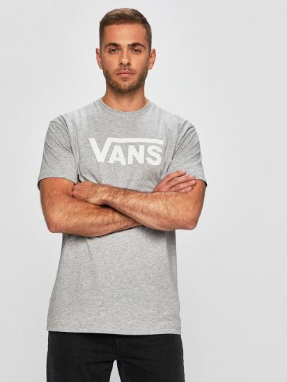 Футболка Vans Classic модель VN000GGG1RQ1 — фото - INTERTOP