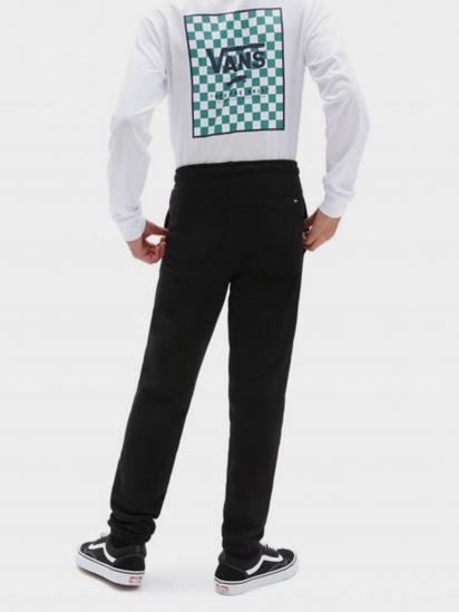 Спортивні штани Vans Easy Logo Fleece Pant модель VN0A5FMZBLK1 — фото 2 - INTERTOP