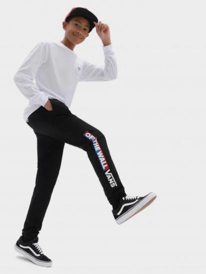 Спортивні штани Vans Easy Logo Fleece Pant модель VN0A5FMZBLK1 — фото 3 - INTERTOP