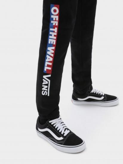 Спортивні штани Vans Easy Logo Fleece Pant модель VN0A5FMZBLK1 — фото 4 - INTERTOP