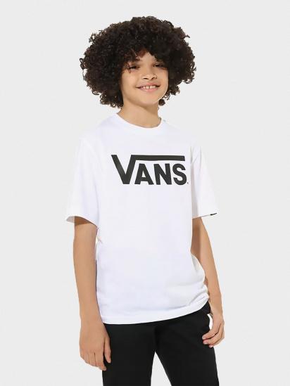Футболка Vans CLASSIC BOYS модель VN000IVFYB2 — фото - INTERTOP