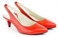 Женские босоножки красные, фото, intertop