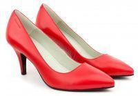 Женские туфли красные , 2017