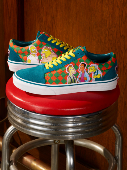 Кеди Vans The Simpsons x Vans Moe's Old Skool - фото