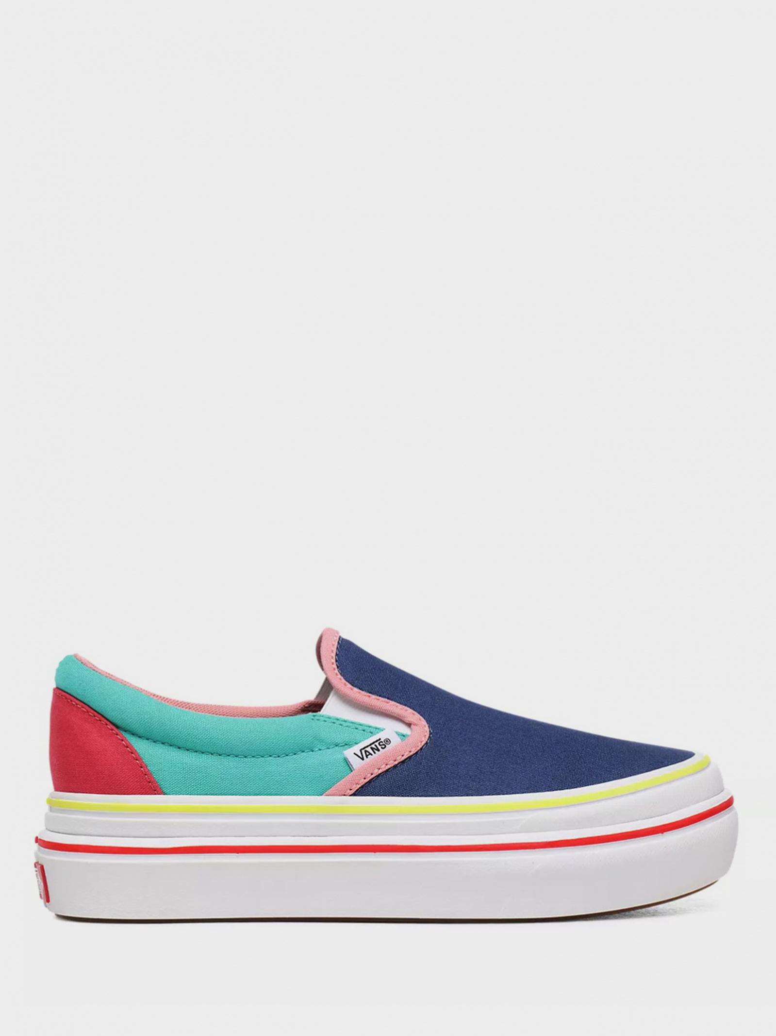 Кеди  для жінок Vans VN0A4U1FXT61 розмірна сітка взуття, 2017