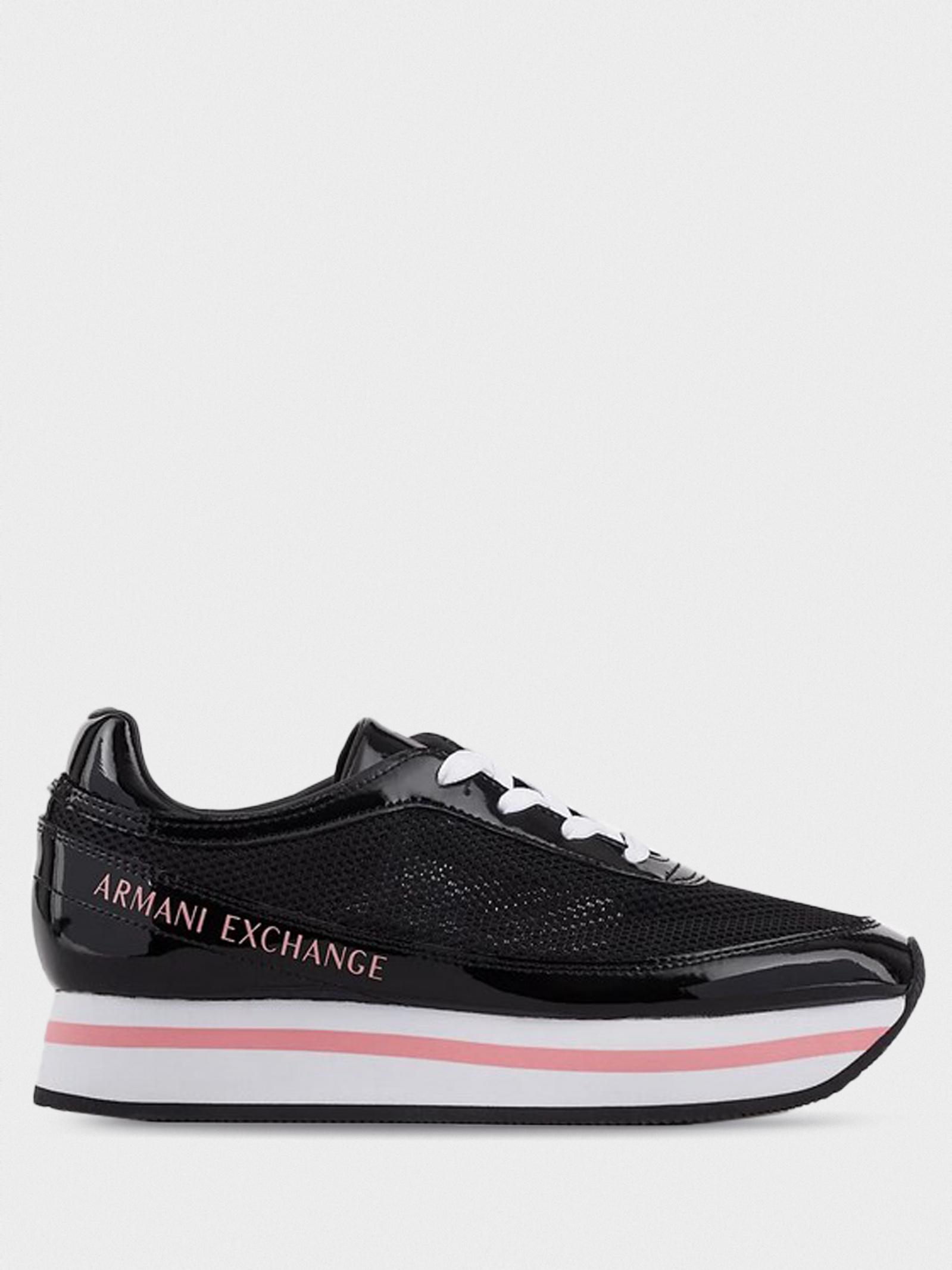 Кроссовки для женщин Armani Exchange XDX030-XV314-00002 модная обувь, 2017