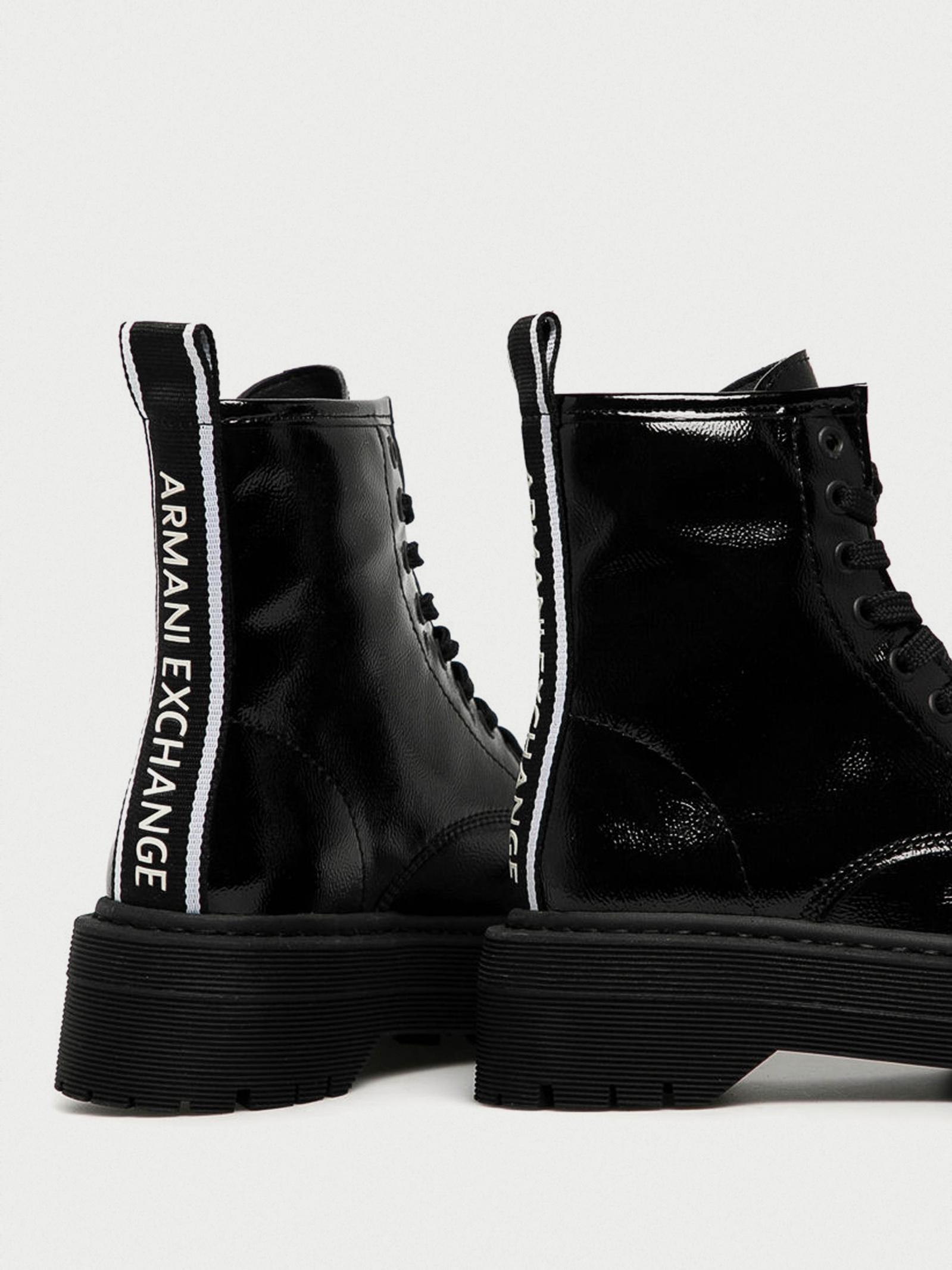 Черевики  для жінок Armani Exchange XDN018-XV349-00002 модне взуття, 2017