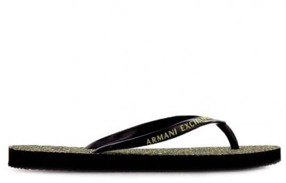 Вьетнамки для женщин Armani Exchange WOMAN PVC/PLASTIC FLIP FLOP 945027-CC707-00020 размерная сетка обуви, 2017